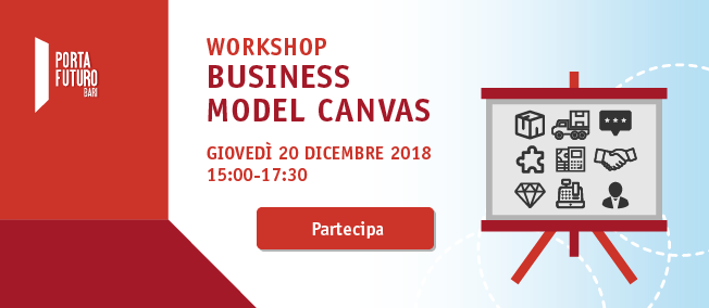 "Workshop ""Il Business Model Canvas"""