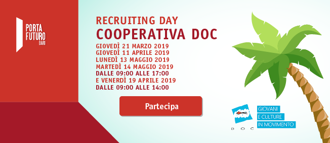 Recruiting days Cooperativa Doc